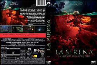 Mermaid The Lake of the Dead - La Sirena - Cover DVD
